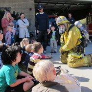 Field trip to Rolling Hills Estates fire station