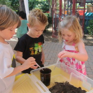 PV Hills encourages all sorts of discovery, like learning about worms.
